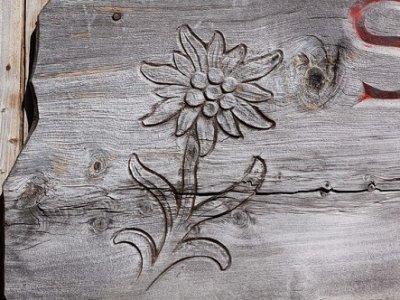 wood photo laser engraving