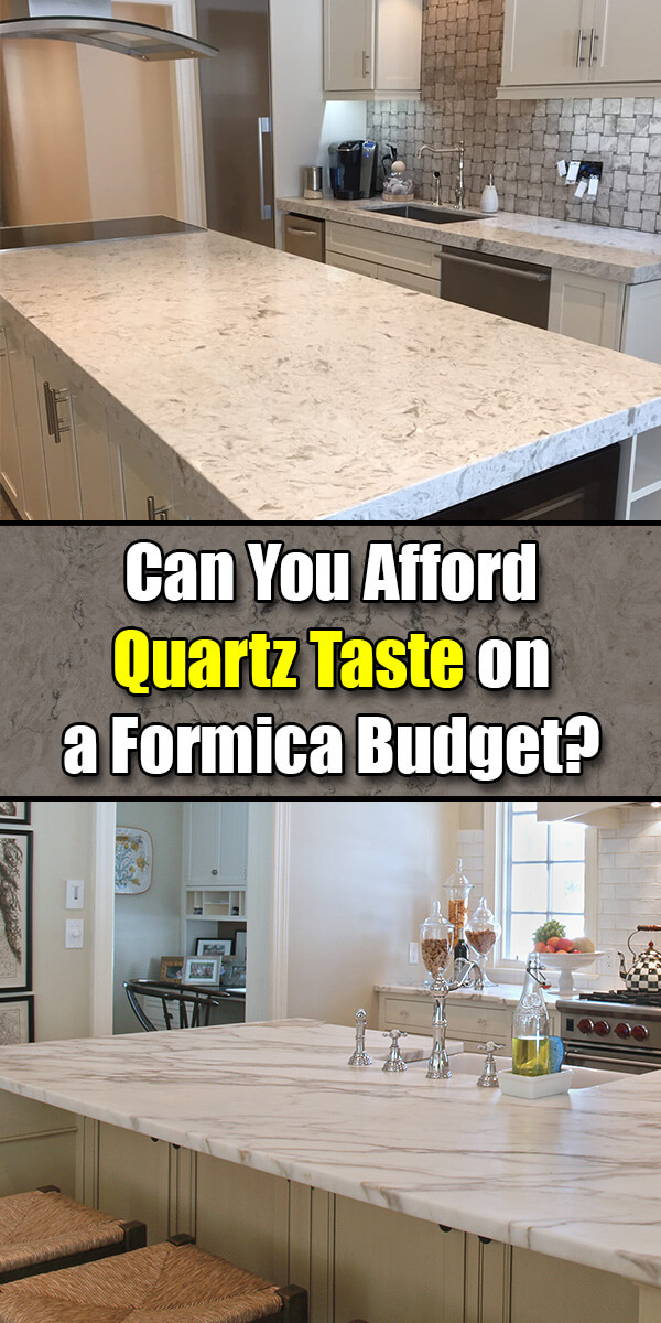 Can You Afford Quartz Taste on a Formica Budget? - Mr. DIY Guy