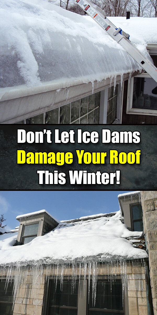 Don't Let Ice Dams Damage Your Roof This Winter - Mr. DIY Guy