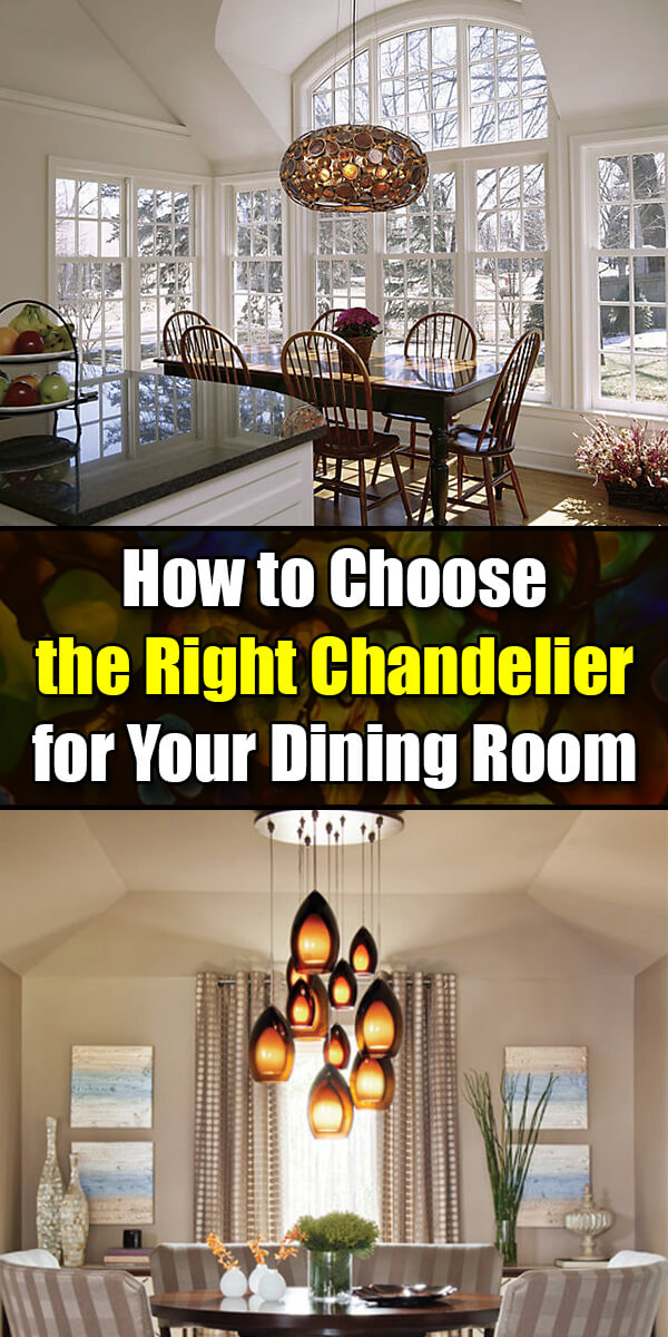 How to Choose the Right Chandelier for Your Dining Room - Mr. DIY Guy