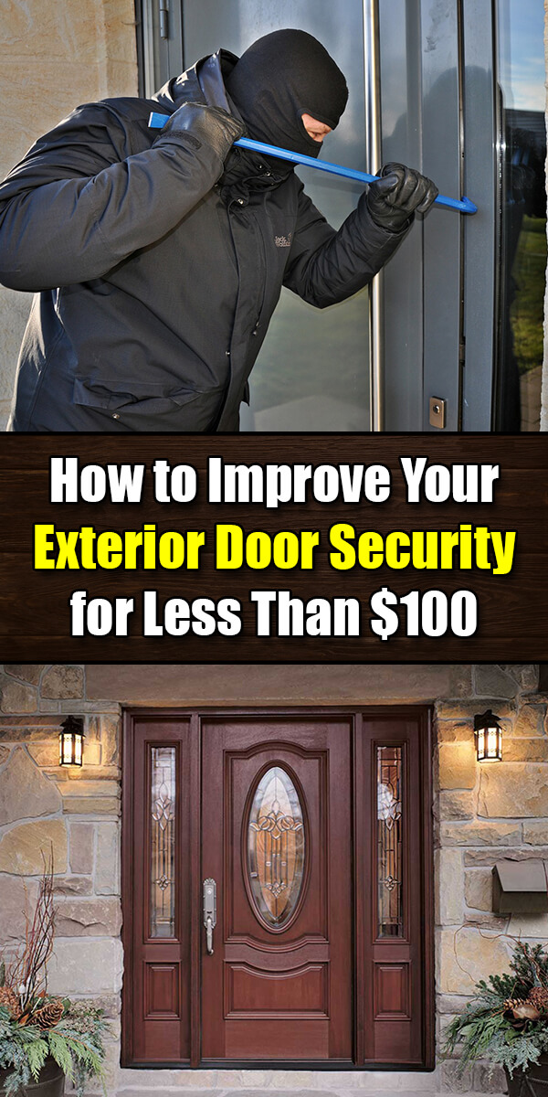 How to Improve Your Exterior Door Security for Less Than $100 - Mr. DIY Guy