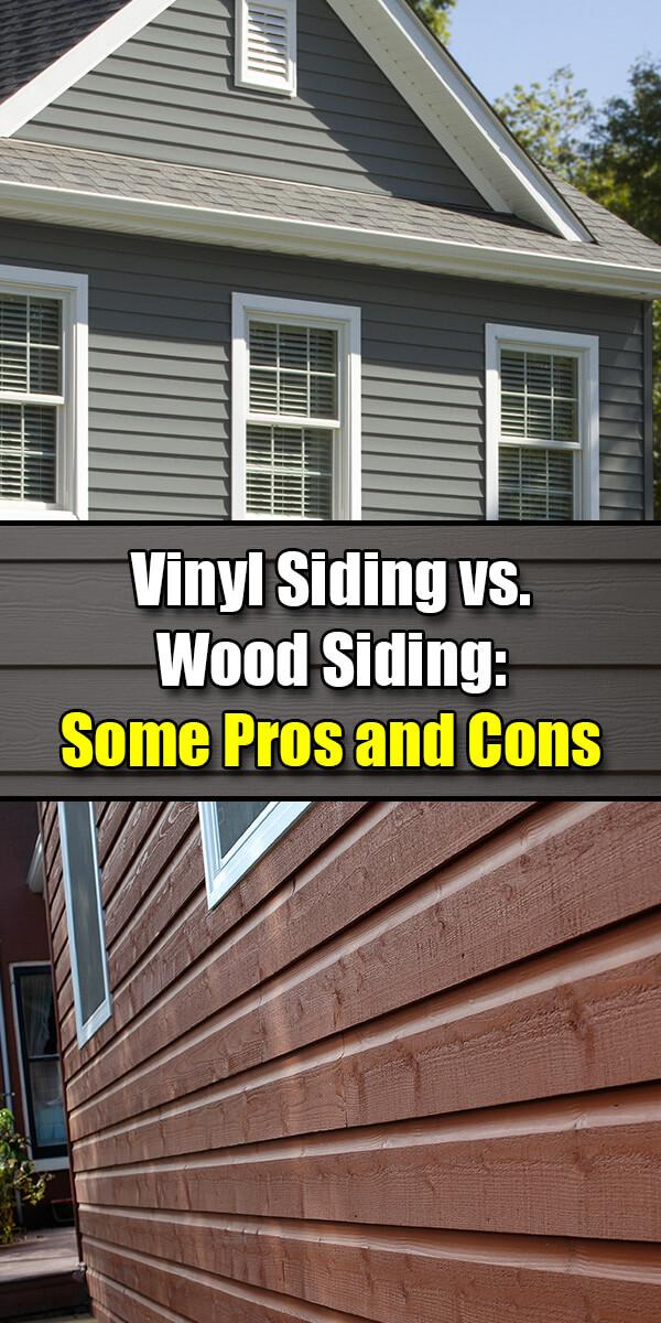 Vinyl Siding vs. Wood Siding Some Pros and Cons - Mr. DIY Guy