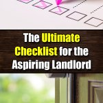 The Ultimate Checklist for the Aspiring Landlord - Mr. DIY Guy