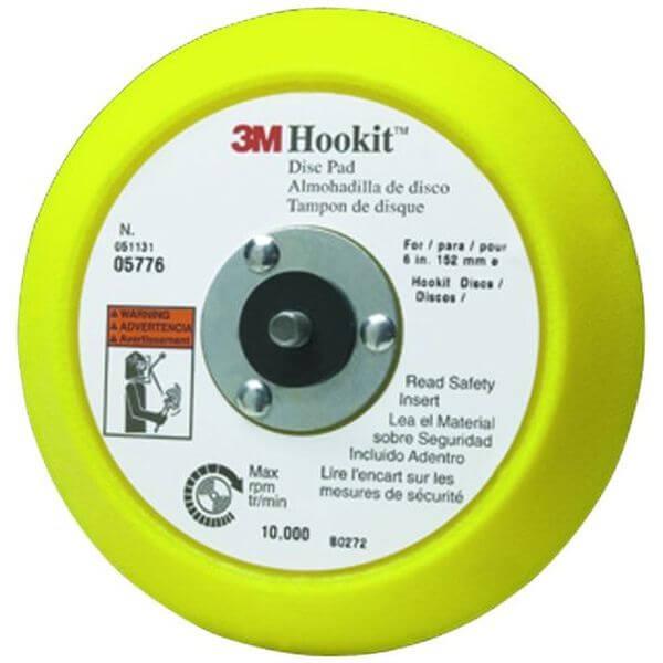 3M Hookit 6-inch Disc Pad