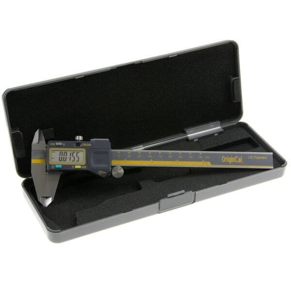 iGaging ABSOLUTE ORIGIN 0-6 Inch Digital Electronic Caliper - IP54 Protection / Extreme Accuracy