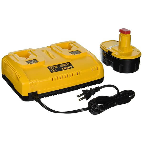 DEWALT 7.2-to-18-Volt NiCd/NiMH/Li-Ion 1-Hour Dual Port Charger and XRP 18-Volt Battery Combo Pack