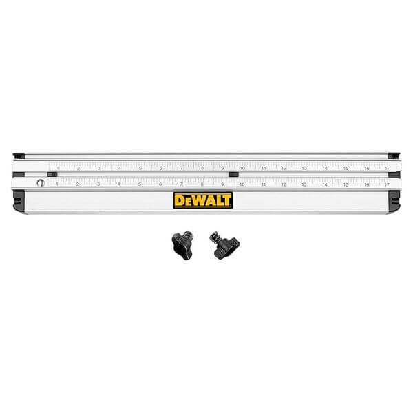 DEWALT 12-Inch Dual-Port Folding Rip Guide