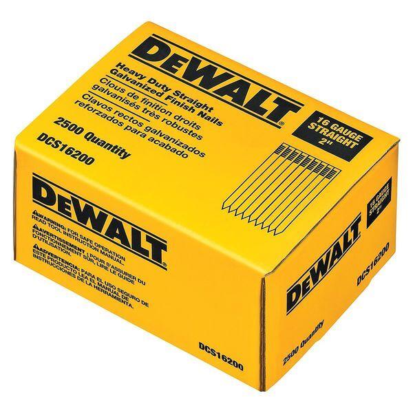 DEWALT 2-Inch by 16 Gauge Finish Nail (2,500 per Box)