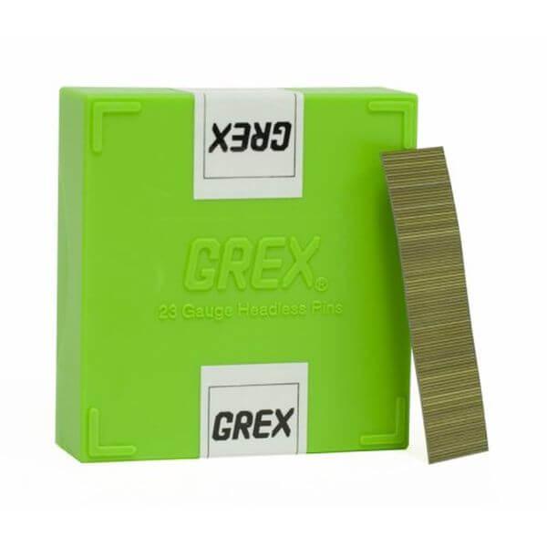 GREX 23 Gauge 3/4-Inch Length Headless Pinner Nails (10,000 per box)