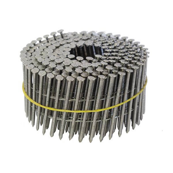 Anchor 1-3/4-Inch by 0.092 15 Degree Wire Coil Ring Shank Stainless Steel Siding Nail (900/Box)