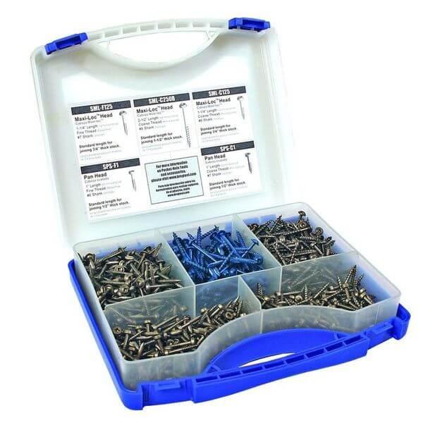 Kreg Pocket-Hole Screw Kit in 5 Sizes
