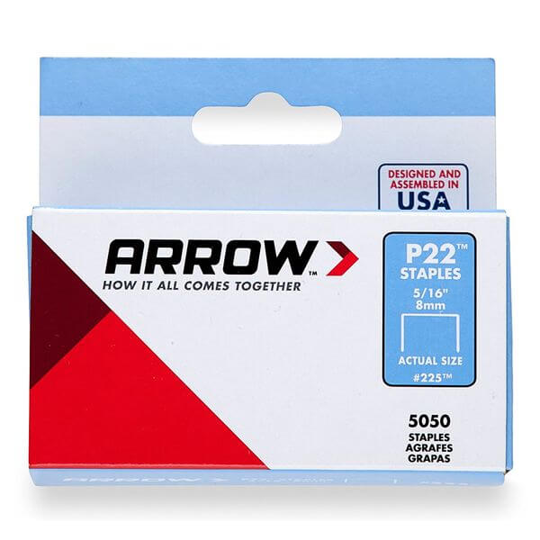 Arrow Genuine 5/16-Inch Staples, 5,050-Pack