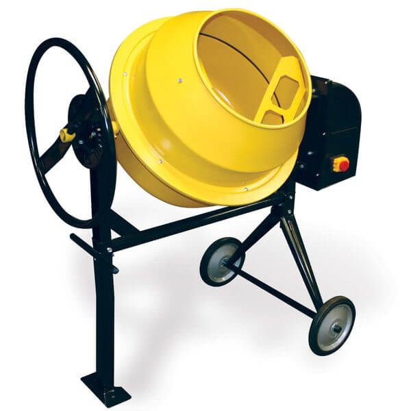 Pro-Series Electric Cement Mixer, 3.5 Cubic Feet
