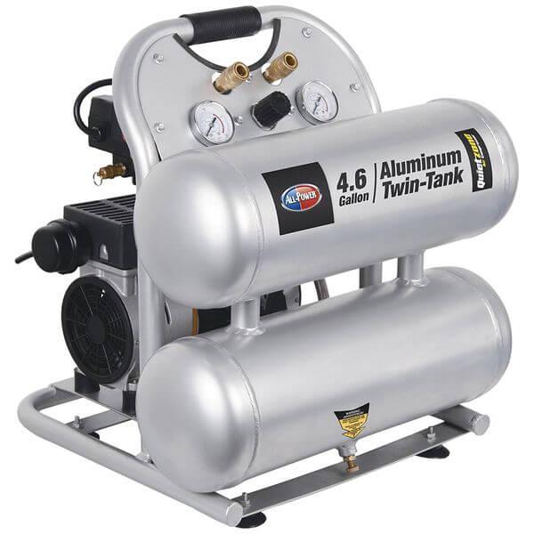 All-Power America Quietzone 1.5 HP Air Compressor with Aluminum Tank