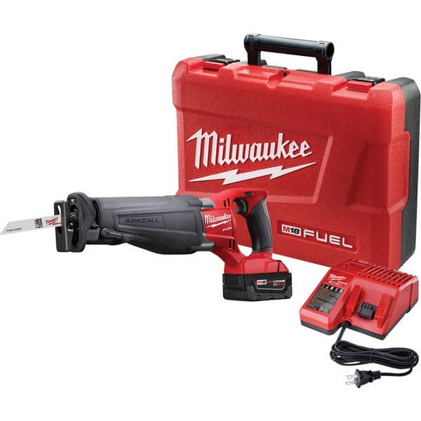 Milwaukee 2620-20 M18 18-Volt Sawzall Cordless Reciprocating Saw