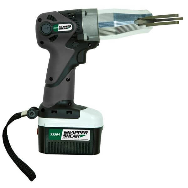 PacTool International Cordless Fiber Cement Siding Shear