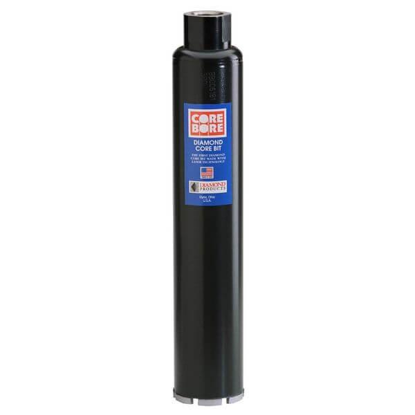 Diamond Products Core Bore 2-1/2-Inch Premium Black Wet Core Bit