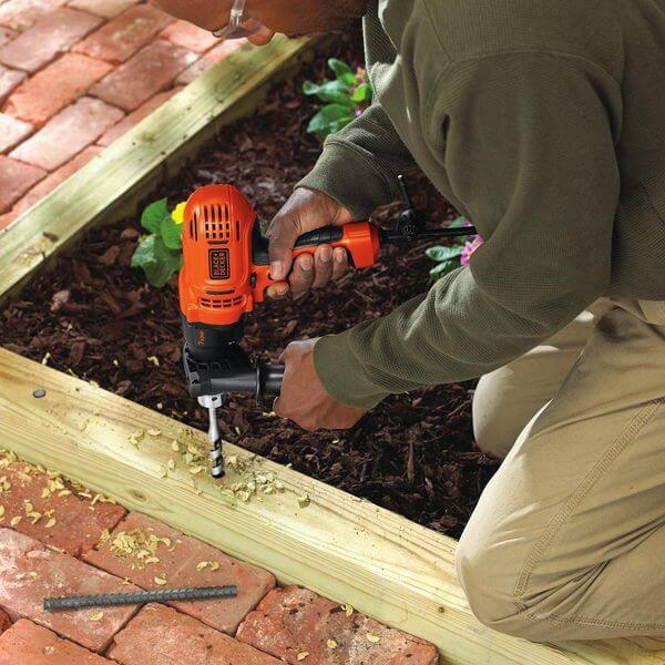 Black & Decker Variable Speed Compact Drill/Driver, 1/2-Inch