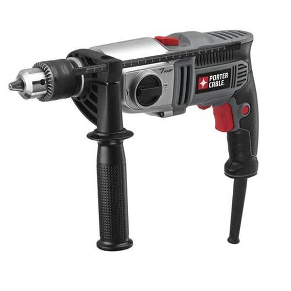 PORTER-CABLE VSR 2-Speed Hammer Drill, 1/2-Inch