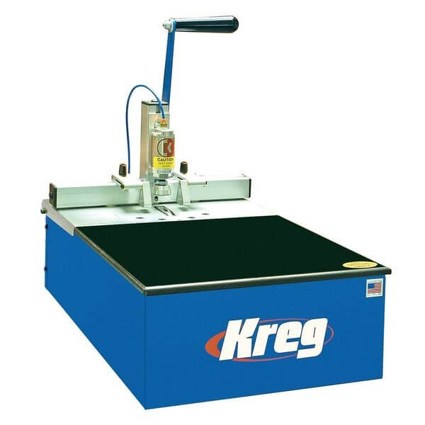 Kreg Foreman 3/4 HP Semi-Automatic Pneumatic Pocket Hole Machine