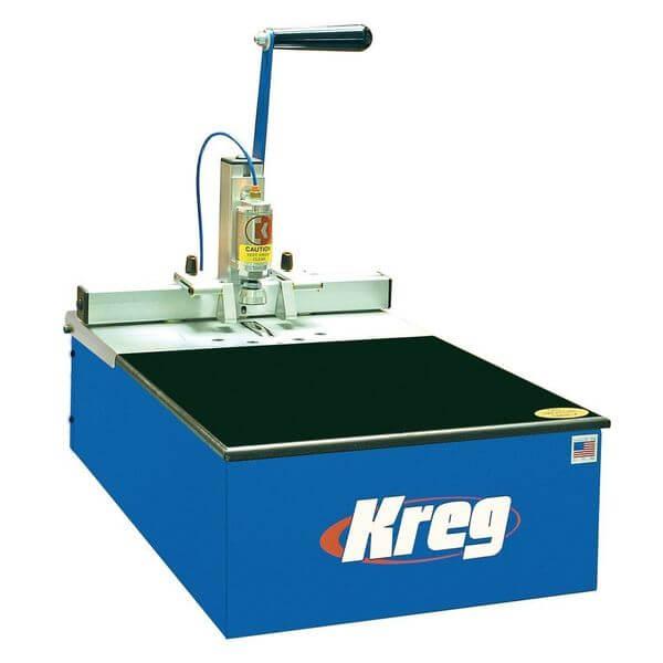 Kreg Foreman 3/4 HP Semi-Automatic Pneumatic Pocket Hole Machine
