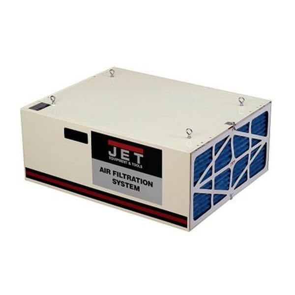 JET CFM 3-Speed Air Filtration System with Remote and Electrostatic Pre-Filter