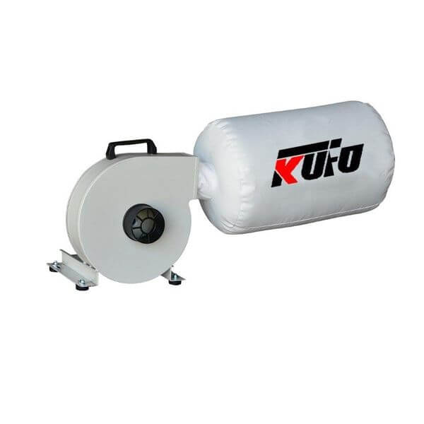 Air Foxx Kufo Seco Wall Mount Dust Collector 1HP 653 CFM Bag Dust Collector