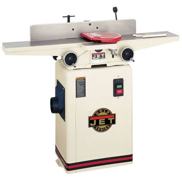 JET 6-Inch 1-HP Jointer, 115/230-Volt 1-Phase