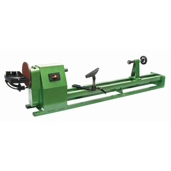 Variable Speed 14-inch X 40-inch Lathe with 7-inch Sander