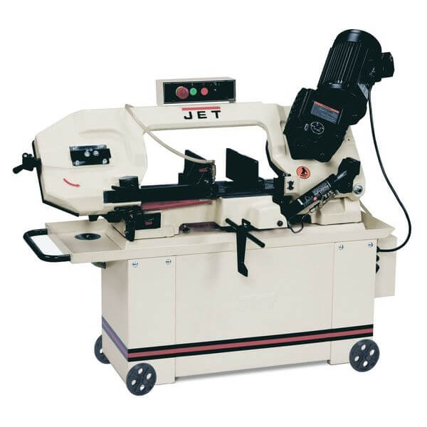JET 8x14-inch Geared Head Horizontal Bandsaw 1HP