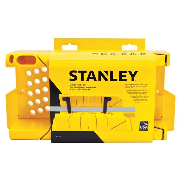 Stanley Clamping Miter Box
