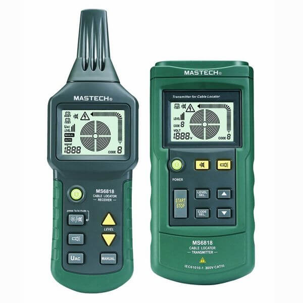 Mastech Wire Cable Tracker Metal Pipe Locator