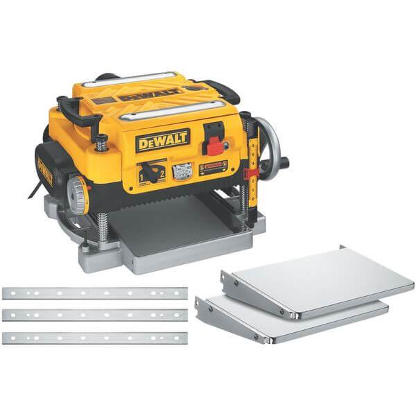 DEWALT 13-inch Two-Speed Planer Package