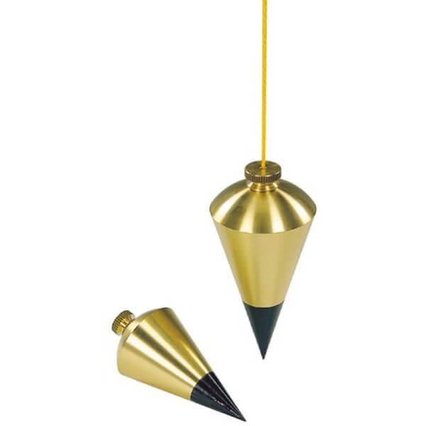 Stanley 8-Ounce Brass Plumb Bob