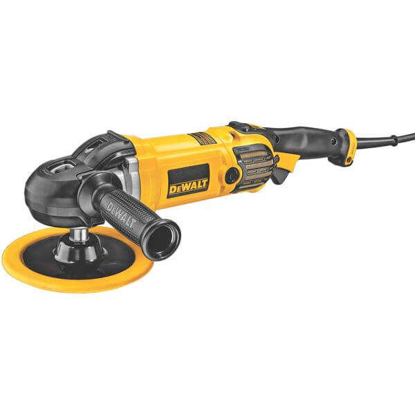 DEWALT 7-Inch/9-Inch Variable Speed Polisher with Soft Start
