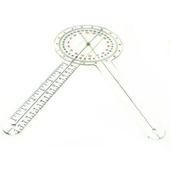 Plastic 12-inch Goniometer