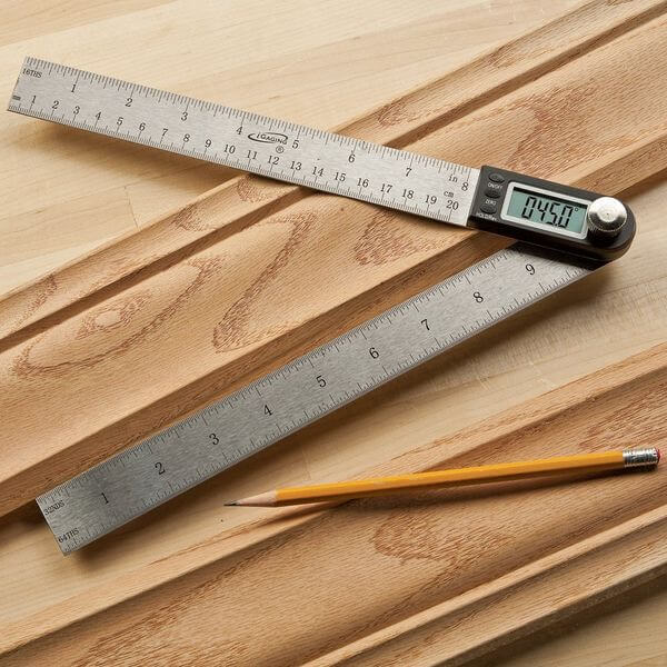 iGaging 11-inch Digital Protractor With 8-inch Rule