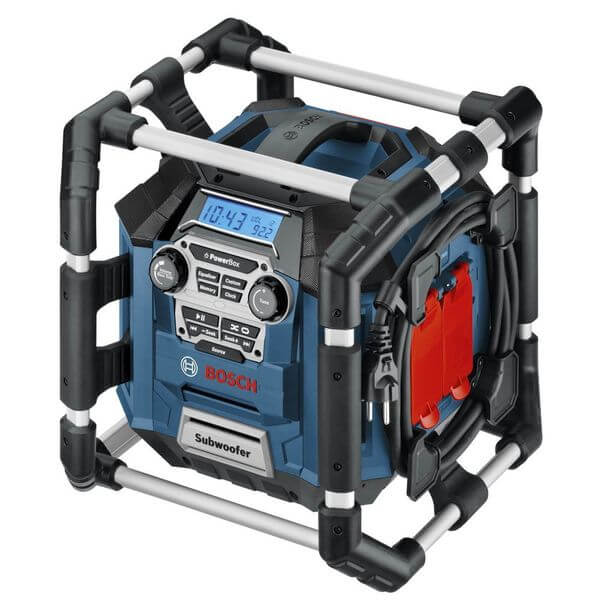 Bosch 18-Volt Lithium-Ion Power Box Jobsite Radio and Charger