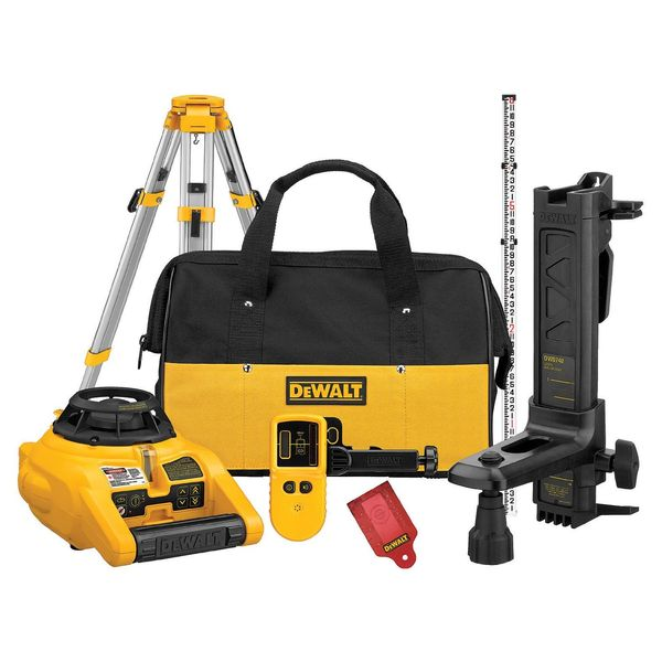 DEWALT Heavy-Duty Self Leveling Interior/Exterior Rotary Laser with Tripod