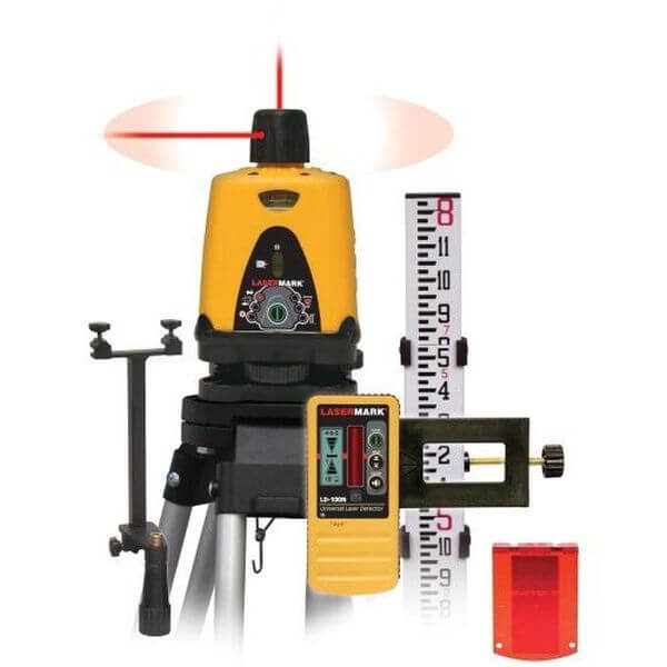 Bosch Self-Leveling Green Rotary Laser with Layout Beam