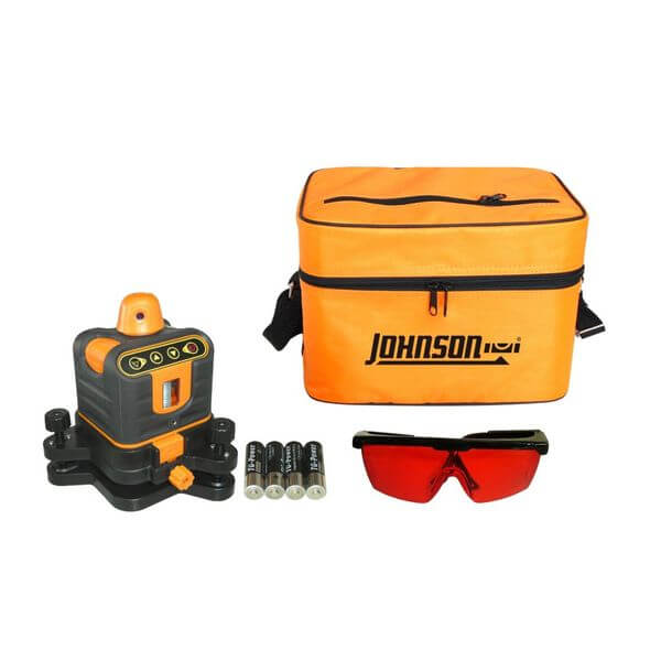 Johnson Level and Tool Manual-Leveling Rotary Laser Level