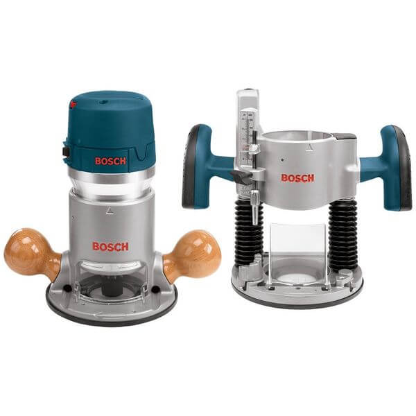 Bosch 12 Amp 2-1/4-Horsepower Plunge and Fixed Base Variable Speed Router Kit