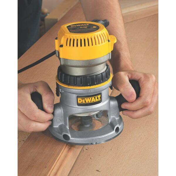 DEWALT 2-1/4 HP Electronic Variable-Speed Fixed-Base Router