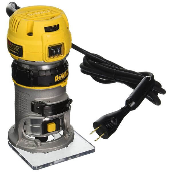 DEWALT 1.25 HP Max Torque Variable Speed Compact Router with LEDs