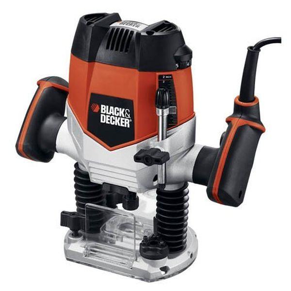 Black & Decker 10 Amp 2-1/4-Inch Variable Speed Plunge Router