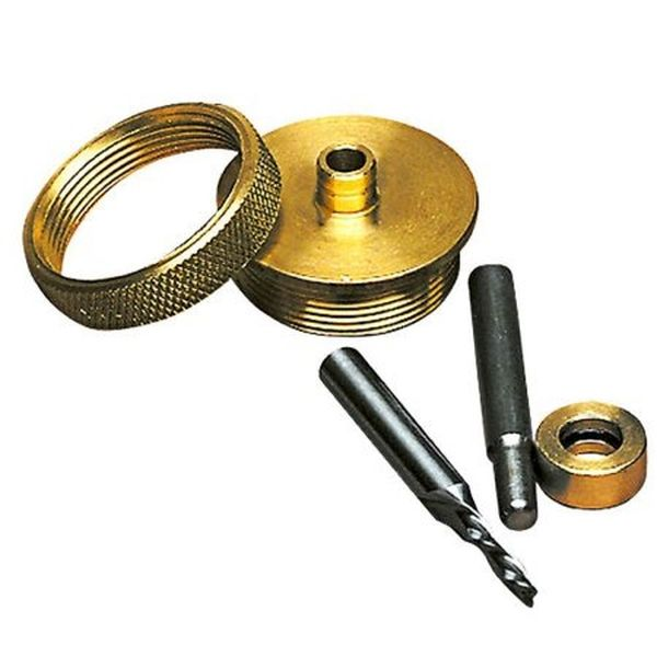 Solid Brass Router Inlay Set
