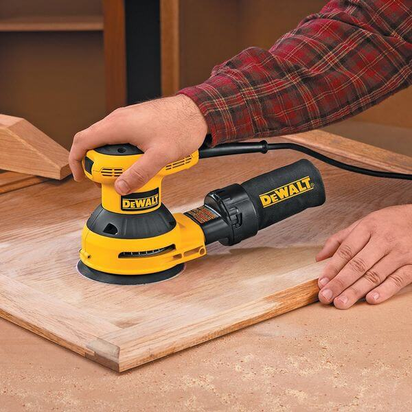 DEWALT 3-Amp 5-Inch Random-Orbit Sander with Cloth Dust Bag
