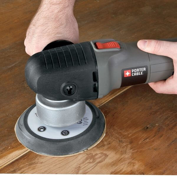 PORTER-CABLE 6-Inch Random Orbit Sander with Polishing Pad
