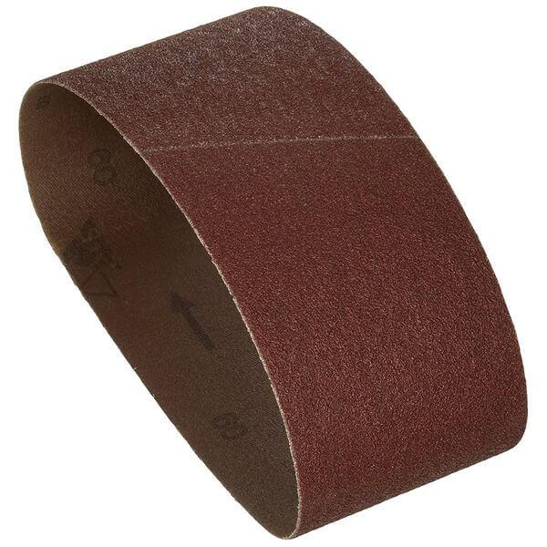 Bosch 3-inch x 18-inch Sanding Belt, Red, 60 Grit, 10 Pack