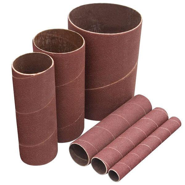 POWERTEC 120 Grit Sanding Sleeves, 6-Pack